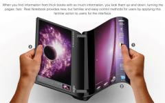 Fujitsu Concept: un laptop version livre