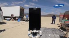 Un Samsung Galaxy S2 dans l'espace