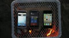 Un stress-test tr�s chaud pour l�iPhone 4