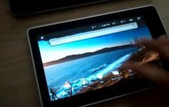 Une tablette sous Android par le constructeur Suli
