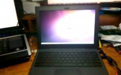 Le Cr-48 de Google port� sous Ubuntu