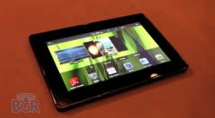 Une nouvelle vid�o de prise en main du BlackBerry PlayBook