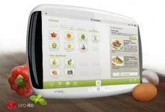 Une tablette tactile pour les cuisiniers