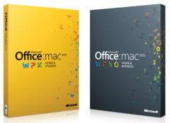 Office 2011 Mac disponible.