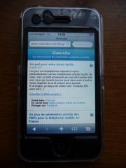 Le blog d'Owendia passe en version mobile pour iPhone et iPod.