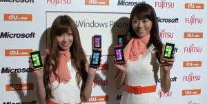 Vido du Windows Phone Fujitsu/Toshiba