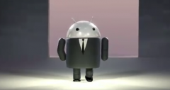 Bugdroid en costume cravate