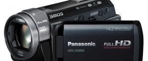 Panasonic lance des cam�ras HD 3D, 3Mos et 1Mos