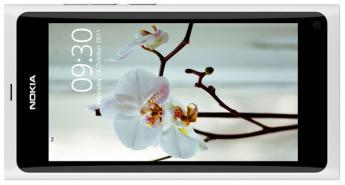 Version blanche pour le N9 de la firme Nokia