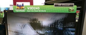ViewSonic lance son �cran de 24� LED avec �metteur 3D
