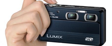Panasonic pr�sente le LUMIX 3D1, son premier compact 3D