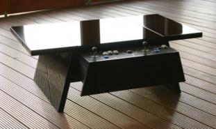 Tables arcade: tables de salon avec une borne d'arcade