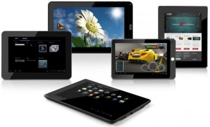CES 2012: Coby d�voilera 5 tablettes sous Android Ice Cream Sandwich