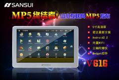 Samsui V616: Android et grand écran