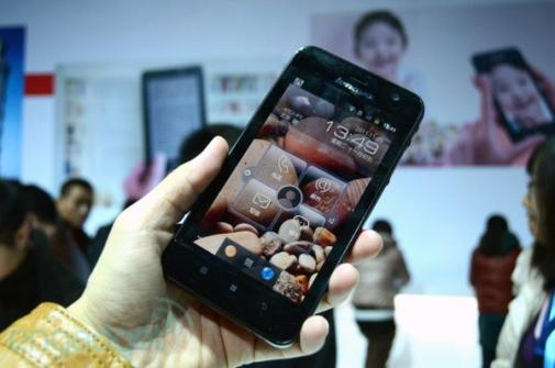 Lenovo pr�sente le smartphone LePad S2005