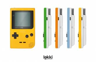 Le GameBoy Pocket avec L�kki