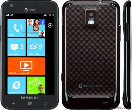Samsung Focus S et Focus Flash avec Windows Phone