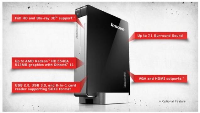 Lenovo Q180: le plus rikiki des minis PC