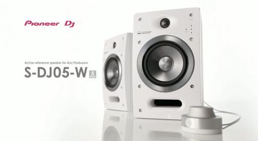 Enceintes Pioneer S-DJ05 couleur blanche