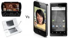 Les consoles portables, PSP et DS, perdent du territoire face aux smartphones