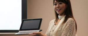 Fujitsu lance une tablette au Japon avec clavier coulissant: le TH40D