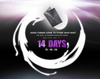 Ultrabooks de Asus: le 11 octobre