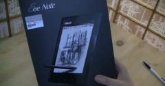 ASUS Eee Note EA800 : déballage vidéo