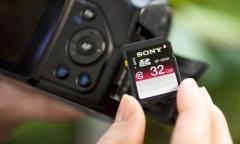 Sony: nouvelles cartes SD