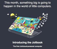 Le Jolibook disponible depuis peu
