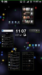 Le fond d��cran anim� � Microbes � du Nexus S disponible pour tous !