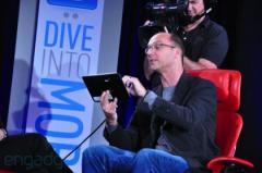 Google d�voile un prototype de tablette sous Android Honeycomb