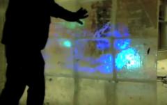 Un mur tactile en glace chez Nokia