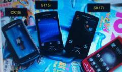Fuite de 2 smartphones Sony Ericsson: les CK15i et ST18i