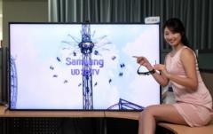 Une TV 70″ Ultra Definition et 3D chez Samsung