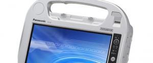 Panasonic et sa Tablette M�dicale Toughbook avec un mod�le: la CF-H2