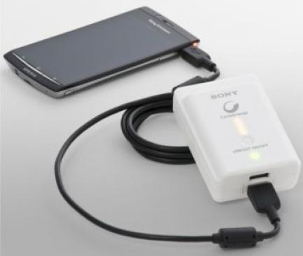 Sony: des chargeurs USB � transporter