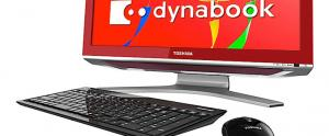 Toshiba: Ordinateur dynabook Qosmio D711 AIO avec processeur Quad Core i7