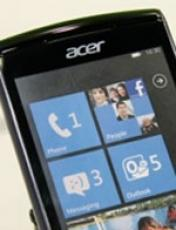 IFA; Acer W4 avec Windows Phone 7 Mango
