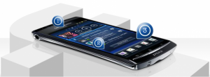 Smartphones Sony Ericsson de 2011 avec intgration plus volue