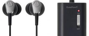 Audio-Technica: écouteurs ATH-ANC23 QuietPoint