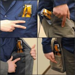 Microsoft PocketTouch: du tactile sur le tissu