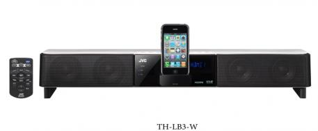 JVC Kenwood lance 3 Bar Sound compatibles avec iPhone/iPod