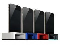 Century iHorn : Dock Cornu pour iphone 4