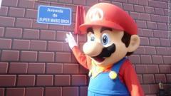 Super Mario Bros a sa rue !