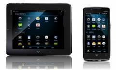 Vizio pr�sente sa gamme VIA : un smartphone et une tablette avec Android