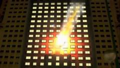 Une facade d'immeuble pour une publicité pour la Galaxy Tab à M