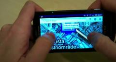 Le multitouch est arriv� sur le Xperia X10