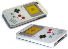 Coque iPhone 4 aux couleurs de la Gameboy