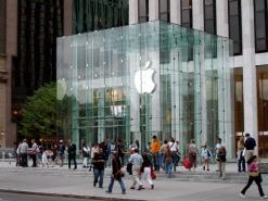 Apple bient�t aux Champs Elys�es