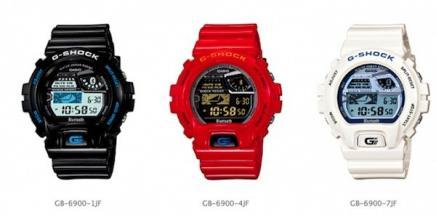 Casio pr�sente sa G-Shock GB-6900